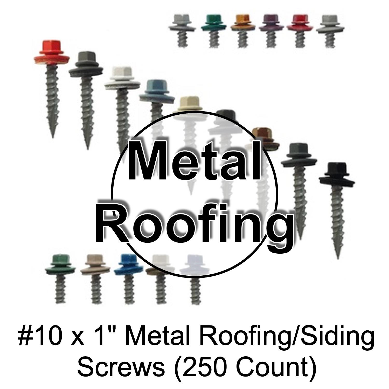 #10 x #1 Metal Roofing Screws