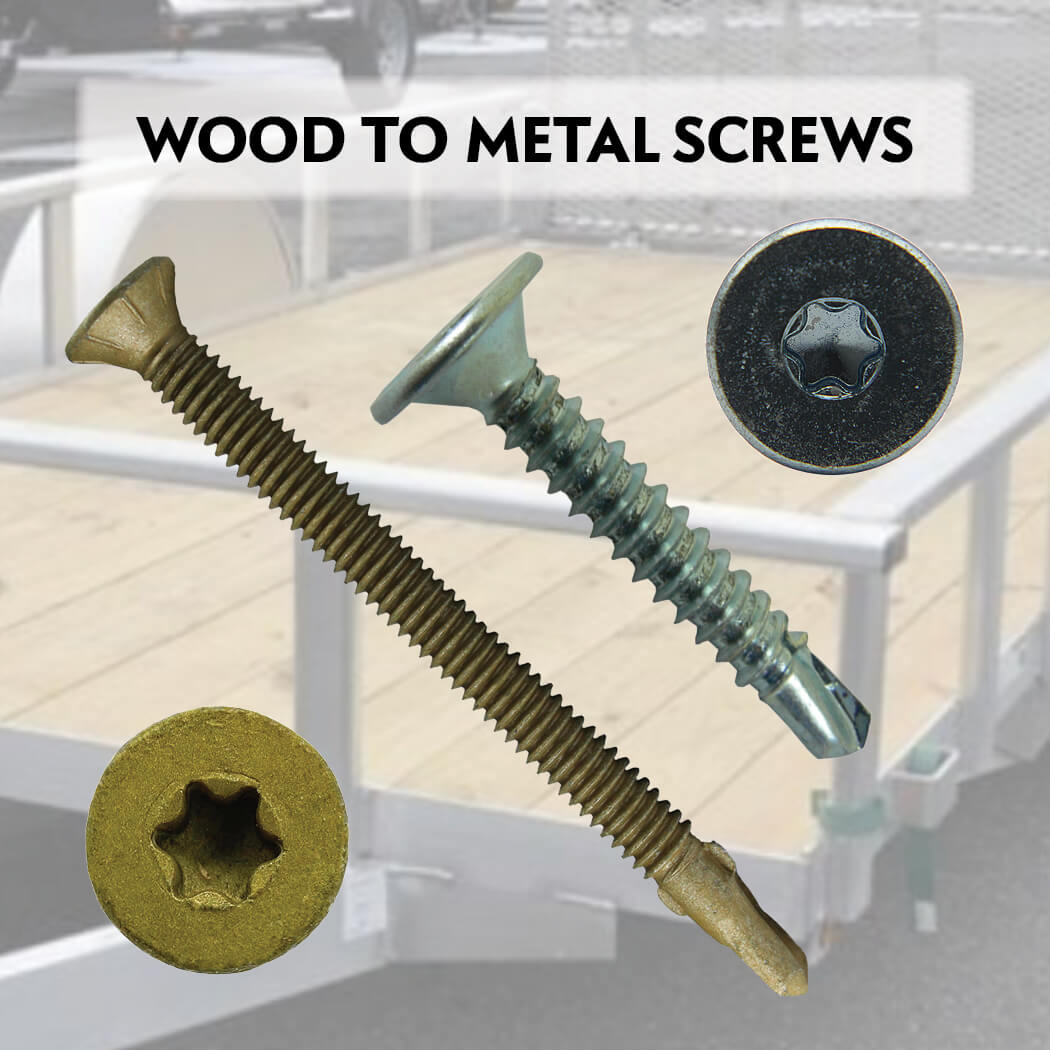 Wood to Metal, Tek Screws