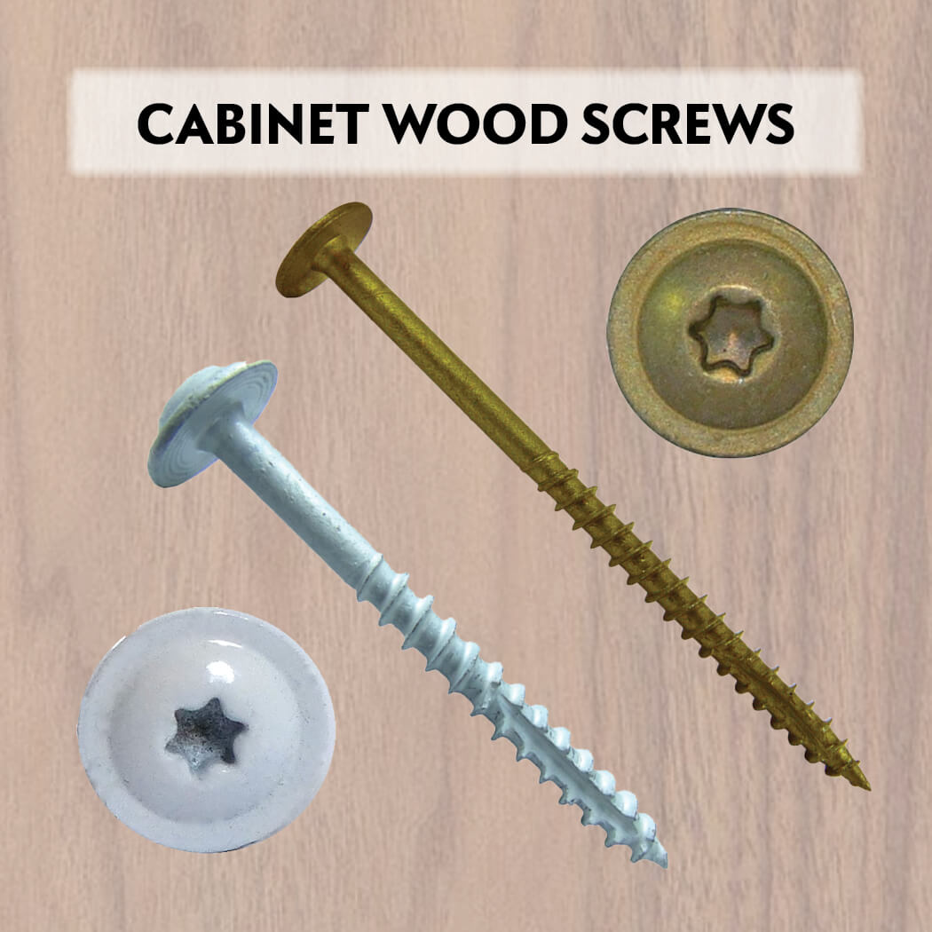 Round Washer Truss Head Cabinet Screws