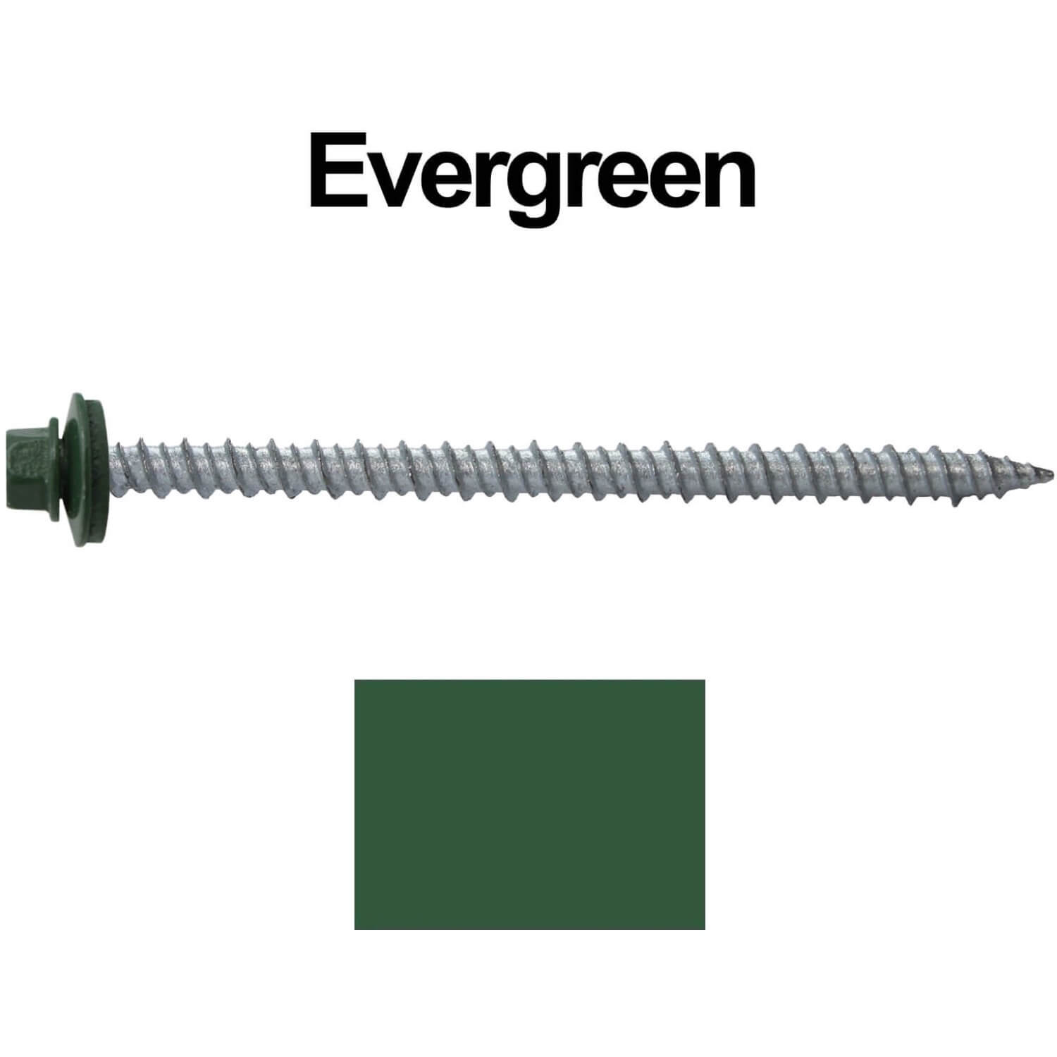 #10 Metal ROOFING SCREWS: (250) Screws x 3