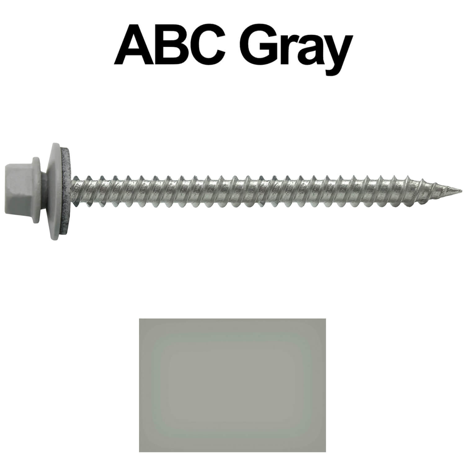 Stainless Steel Metal Roofing Screws (250) 9 x 2-1/2