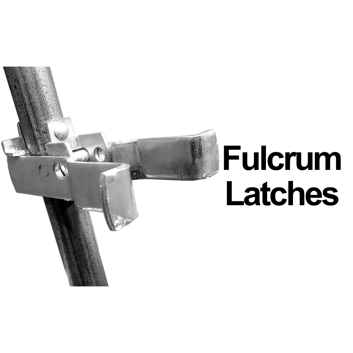 Chain Link Single Gate Fulcurm Latches