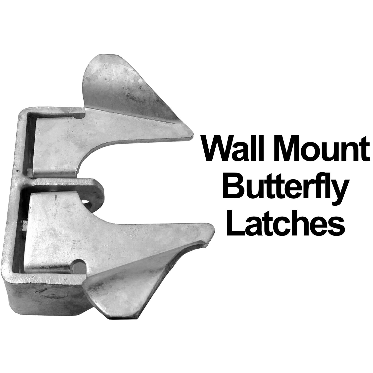 Wall Mount Gate Butterfly Fork Latch