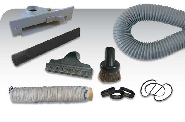 central vacuum system parts