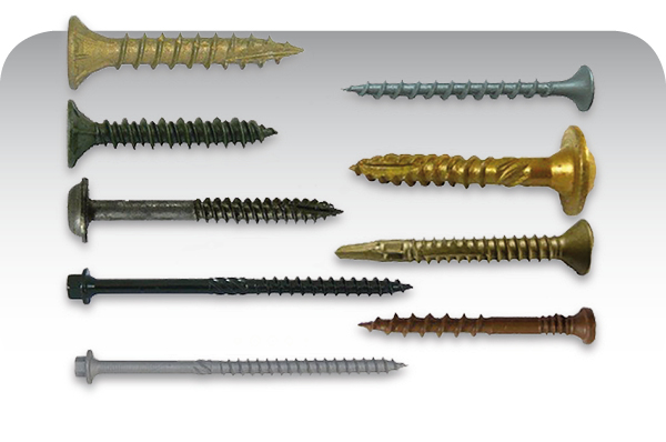 Torx star drive construction screws wood screws, metal screws