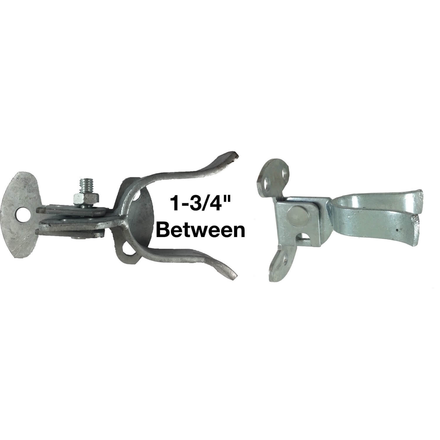 Wall Mount Flat Back Fork Gate Latch Use For 1 5 8