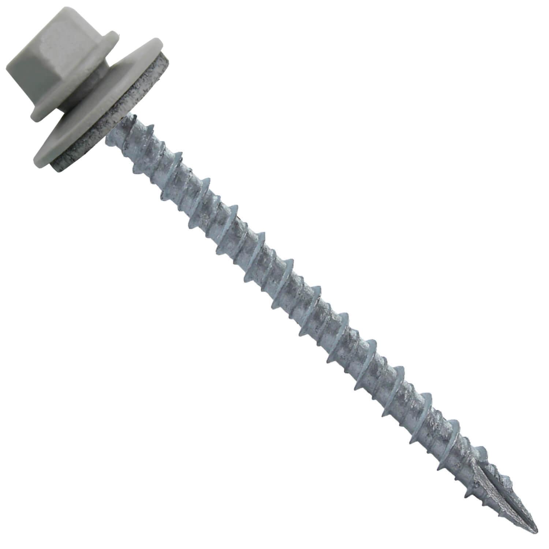 10 Metal Roofing Screws 250 Screws X 2 1 2 Quot Abc Gray