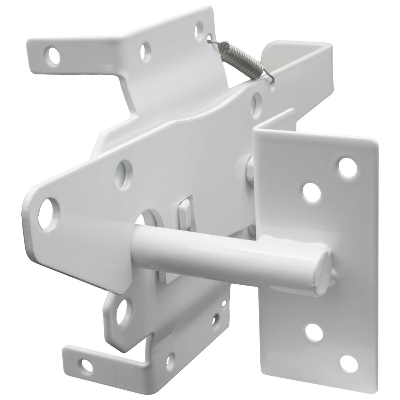 Vinyl Gate Latch White For Vinyl Wood Pvc Etc Fencing