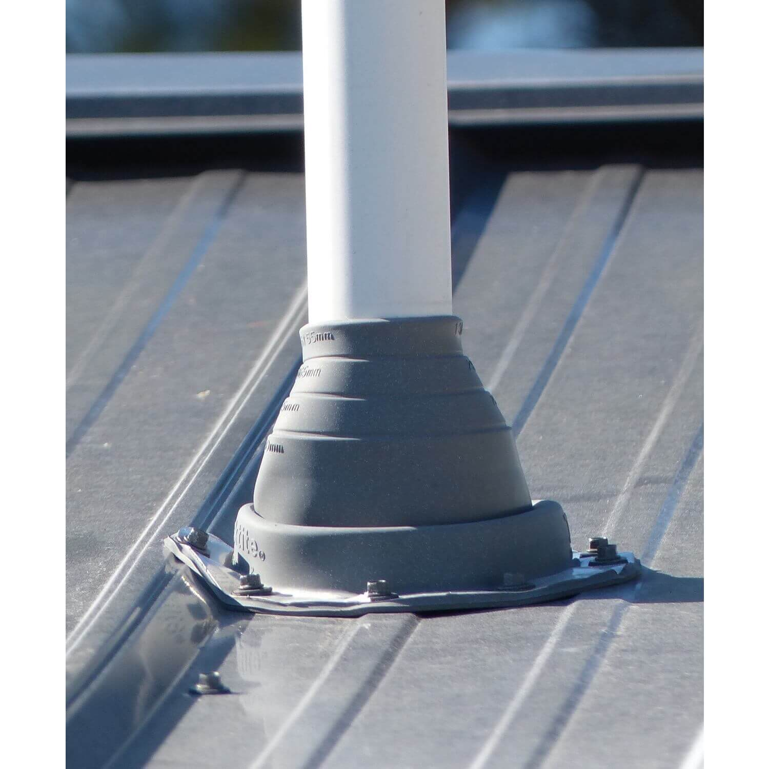 7 6 11 Round Gray Epdm Flexible Pipe Flashing Dektite Boot Metal Roof Jack Pipe Boot Metal Roofing Pipe Flashing Deks Dektit