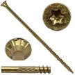 "10x6"" Gold Star FLAT HEAD Screws YTX"