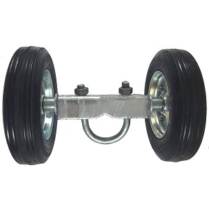 "6"" ROLLING GATE WHEEL CARRIER (NON ADJUSTABLE)"
