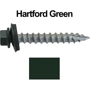 "14x1-1/2"" Metal Roofing Screws (HARTFORD GREEN)"