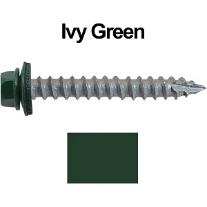"14x2"" Metal Roofing Screws (IVY GREEN/FOREST GREEN)"