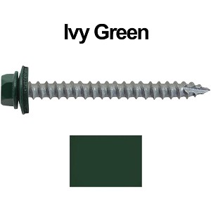 "14x2-1/2"" Metal Roofing Screws (IVY GREEN/FOREST GREEN)"