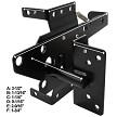 Vinyl Fence Gate Latch (BLACK)