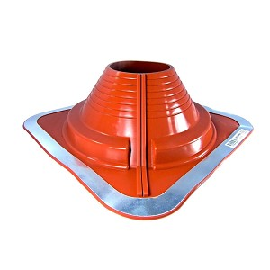 6 Dc206rec Dektite Square Base Combo Pipe Flashing Boot