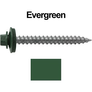 "12X2"" Metal Roofing Screw (EVERGREEN)"