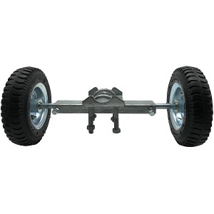 "8"" ROLLING GATE WHEEL CARRIER (RUT RUNNER) - PNEUMATIC"